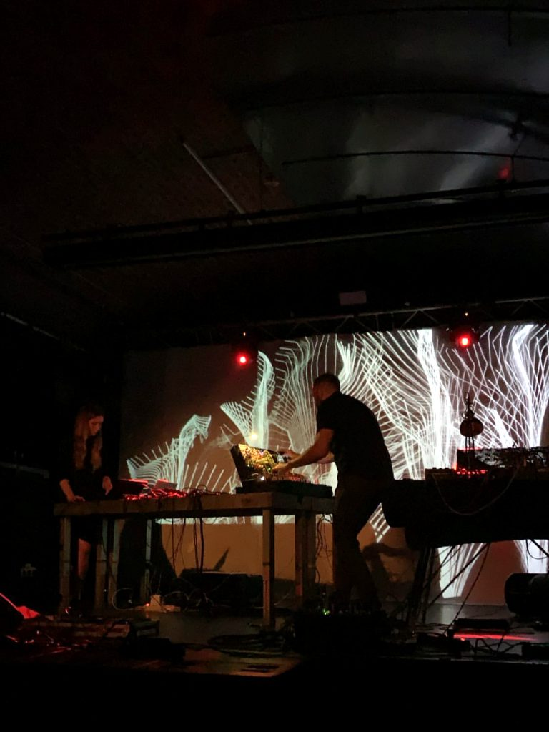 Live visual performance with HHNOI in Cologne, Germany - Modularfield in Concert Livestream at - June 24, 2020
