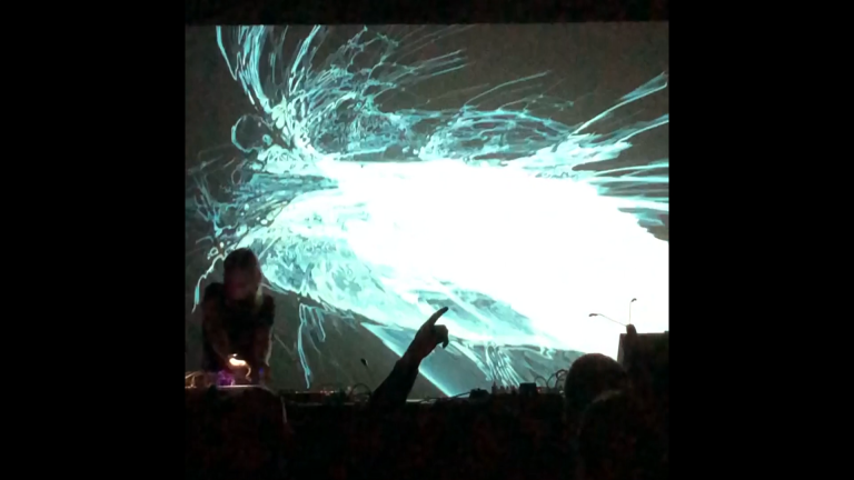 Live visual performance with An on Bast in Cologne, Germany for Cologne Music Week - October 23, 2019