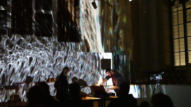 Live visual performance with HHNOI in Wuppertal for Phobos Festival, Germany - October 18, 2019